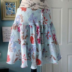 Express 3 tier mini skirt
